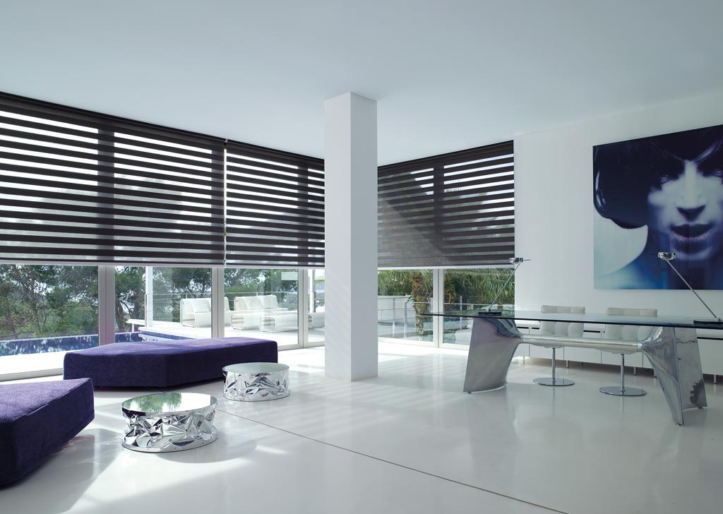 store enrouleur jour nuit motoris sans coffre stores de france. Black Bedroom Furniture Sets. Home Design Ideas