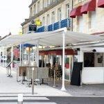 Store double pente restaurant