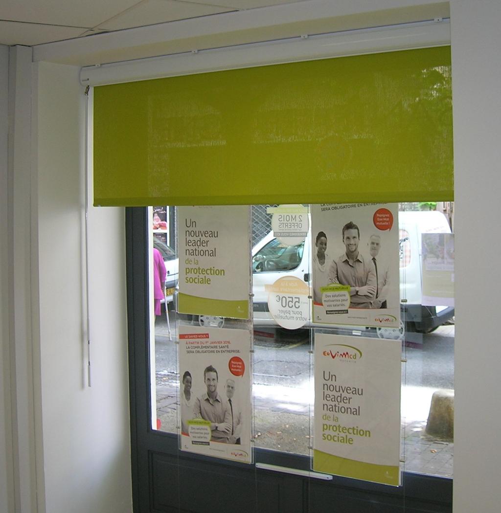 Store Enrouleur Screen Coffre Manuel